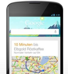 Google Now persönlicher App-Assistent