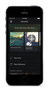 spotify iphone browse