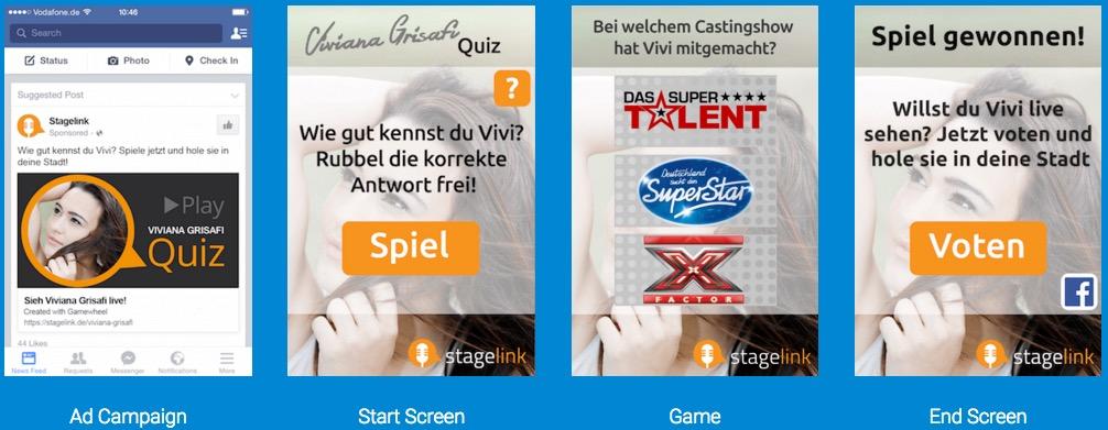 Gamewheel will mobile Werbung zum Kinderspiel machen.