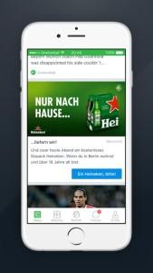 Ad of the Week OneFootball_Heineken