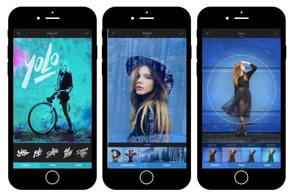 iPhone-App des Jahres 2015: Die Bildbearbeitungs-App Enlight.