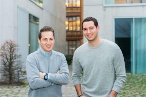 Das Gründer-Team: Garry Krugljakow und Lamine Cheloufi.