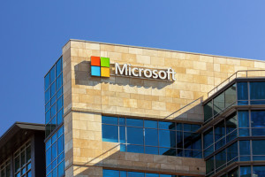 Microsoft Logo shutterstock 175315118
