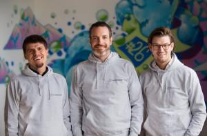 Christian Rebernik (CTO), Maximilian Tayenthal (COO) und Valentin Stalf (CEO)