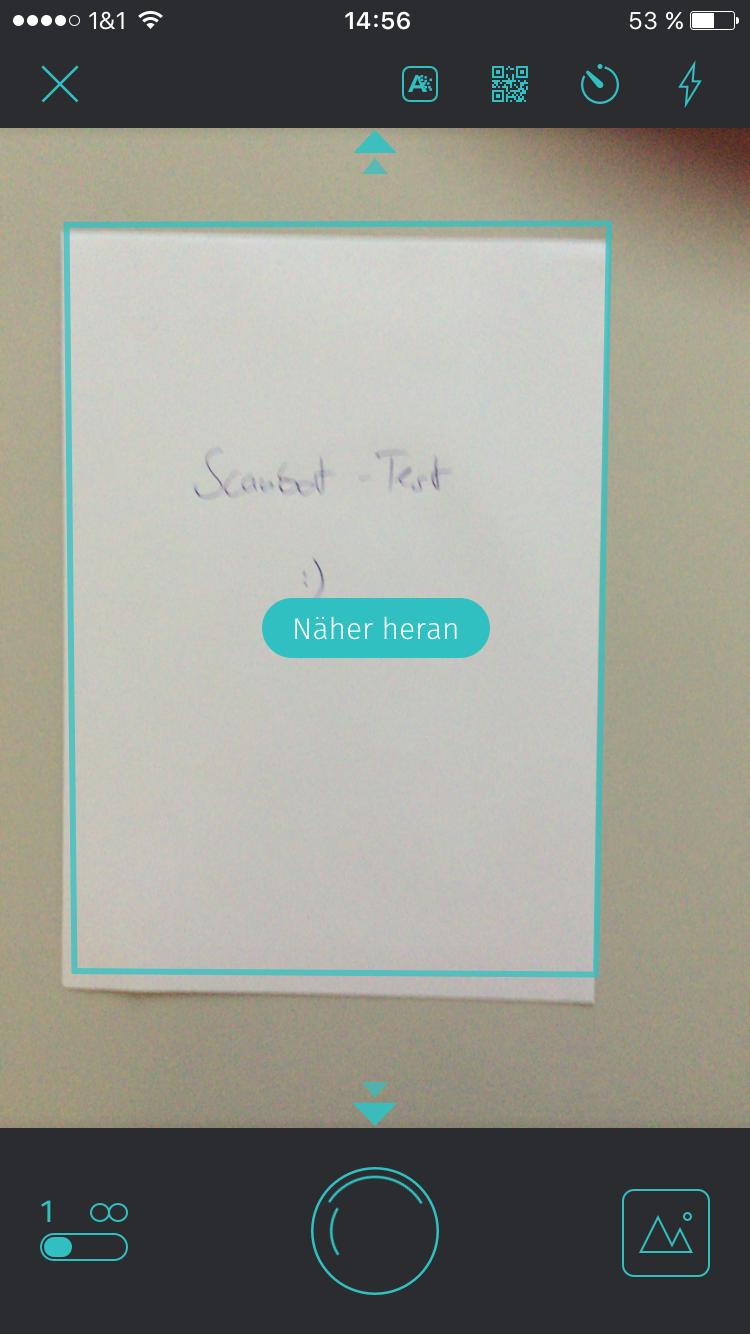 App-Kritik: Christian Wiens holt für Scanbot seinen Papierkram aus ...