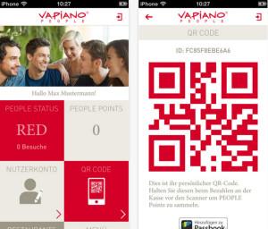 Vapiano App