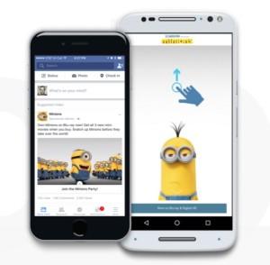 Facebook rollt mobiles Vollbildwerbeformat Canvas aus