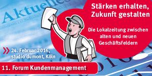 Forum Kundenmanagement