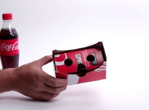 Coca Cola Virtual Reality Werbung