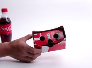 Coca Cola Virtual Reality Werbung