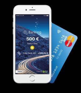 2016_05_12_ o2 Banking – Home-Screen_mitKarte_rgb