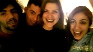 Gruppenfoto - Edgie, Oscar, Anika und Gabriela