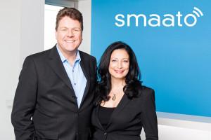 smaato-Gründer Petra Vorsteher und Ragnar Kruse