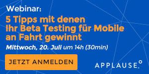 Mobiles Beta-Testing Webinar