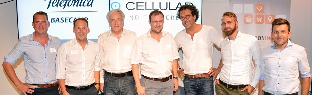 Henrik Helmer, Marc Biadacz, Stefan Schneider, Florian Treiß, Jan Sperlich, John-Paul Herrmann und Alexander Lange