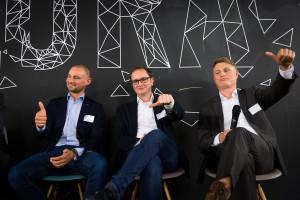 Eugen Albrecht, Werner Huber und Andreas Spannbauer (Copyright: Vivi D'Angelo)