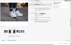 Web Schuhe