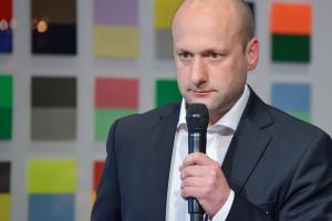 Martin Wapenhensch von Addapptr bei seiner Keynote