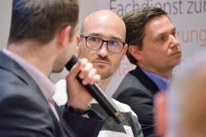 Steffen Kiedel von AdBlock Plus (Mitte)