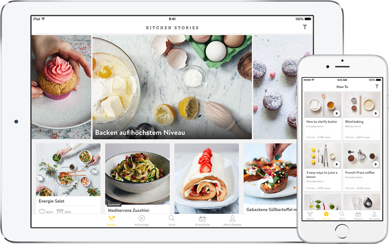 So sieht Kitchen Stories auf iOS aus
