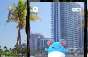 Screenshot aus dem Werbevideo von Pokémon Go