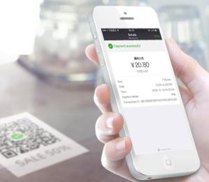 Payment mit WeChat