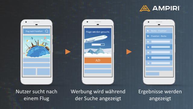 Screen Shot Ampiri Beispiel Werbeanzeigen