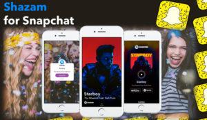 Shazam-for-Snapchat