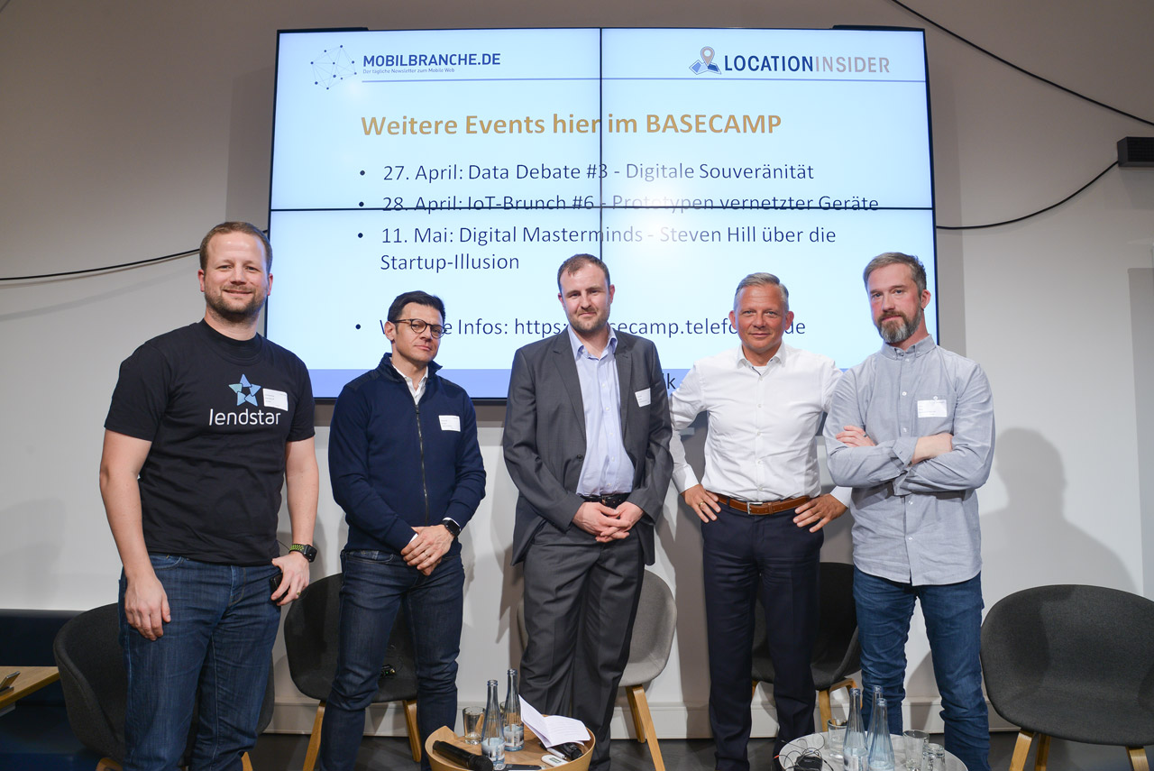 Christopher Kampshoff, Fernando Burgos, Florian Treiß, Matthias Kröner und Maik Klotz