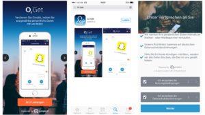 In der o2-Get-App entscheiden die Kunden selbst, welche Infos sie preisgeben wollen.