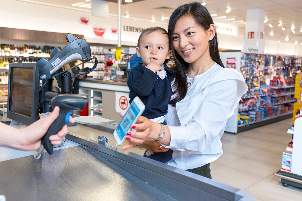 Alipay mobile payment bei rossmann
