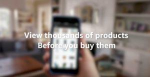 Amazon startet mit AR in Shopping-App