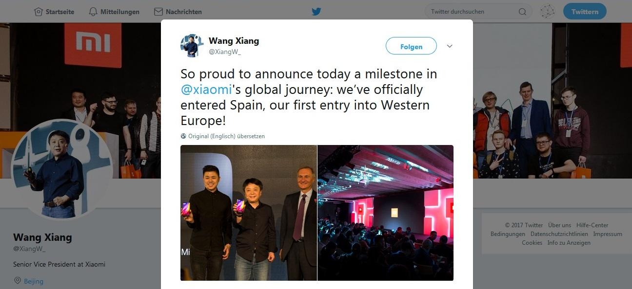 Xiaomi Der Erste Ambitionierte Schritt Auf Westeuropaischem Boden