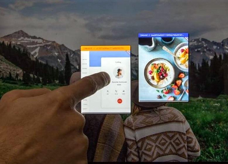 fuchsia konzept mobile und desktop