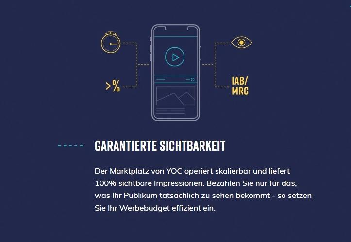 yoc sichtbarkeit mobile ads 100 prozent