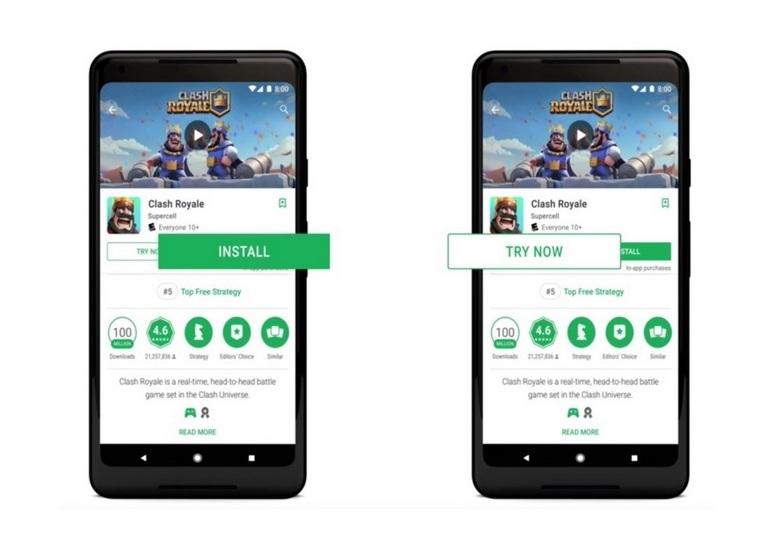 google instant play steigert retention