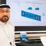 Dubai smartes Kennzeichen am Mai 2018