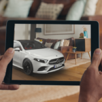 mercedes benz augmented reality app a klasse