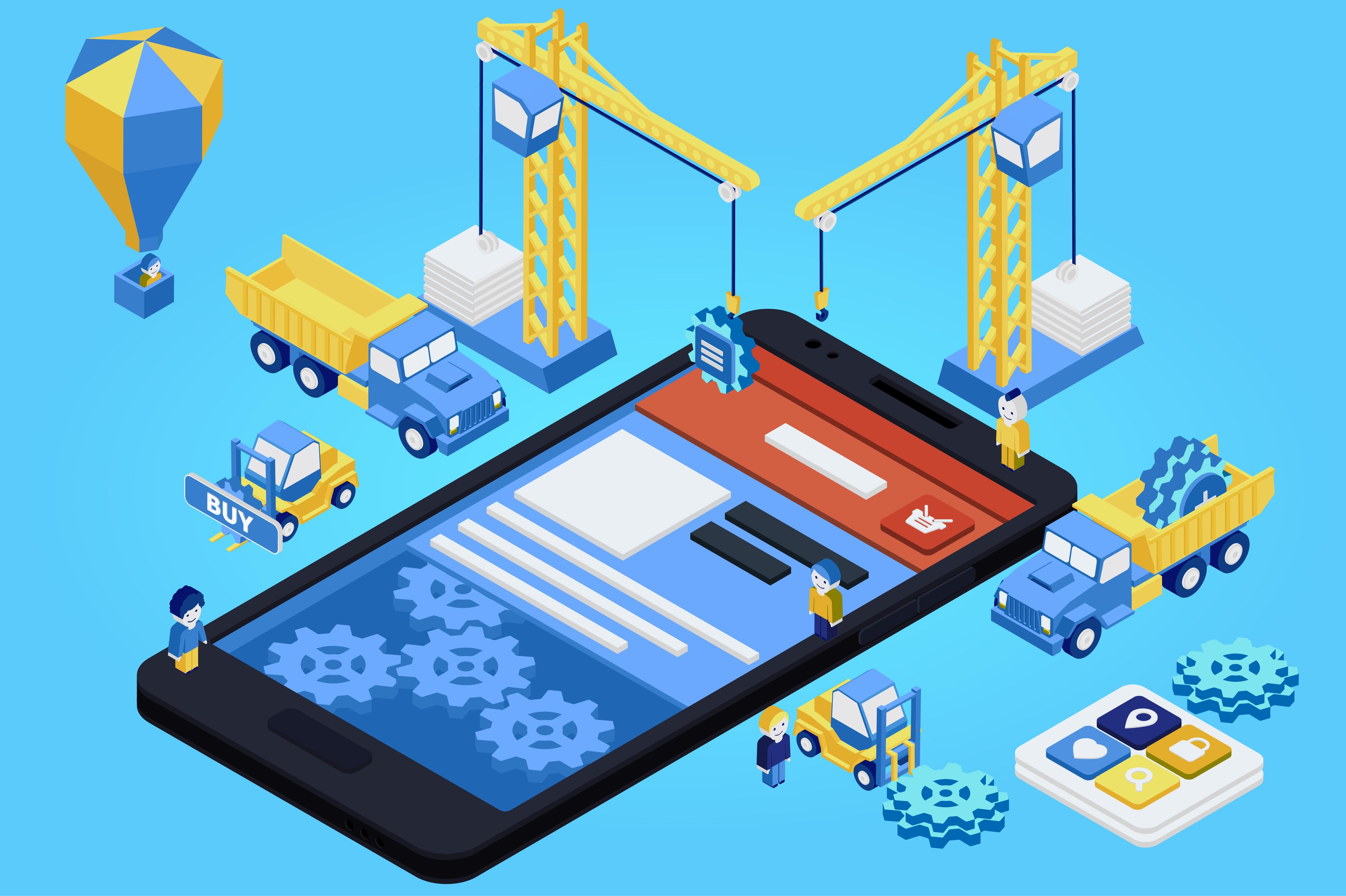 App Entwicklung Sicherheitsrisiko Baukasten Module