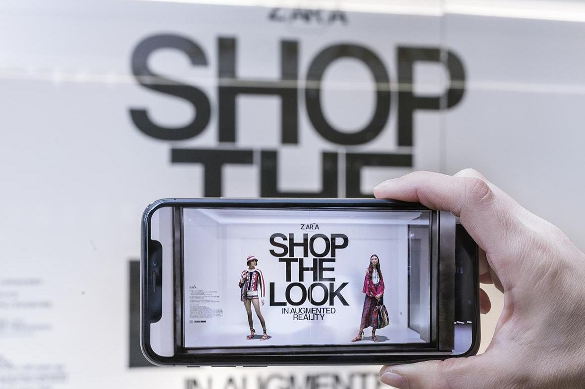 zara augmented reality app hamburg