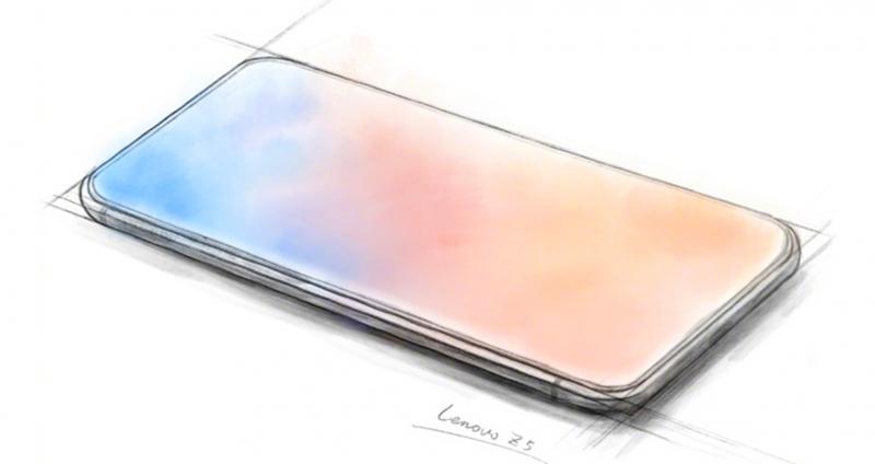 lenovo z5 skizze smartphone randlos