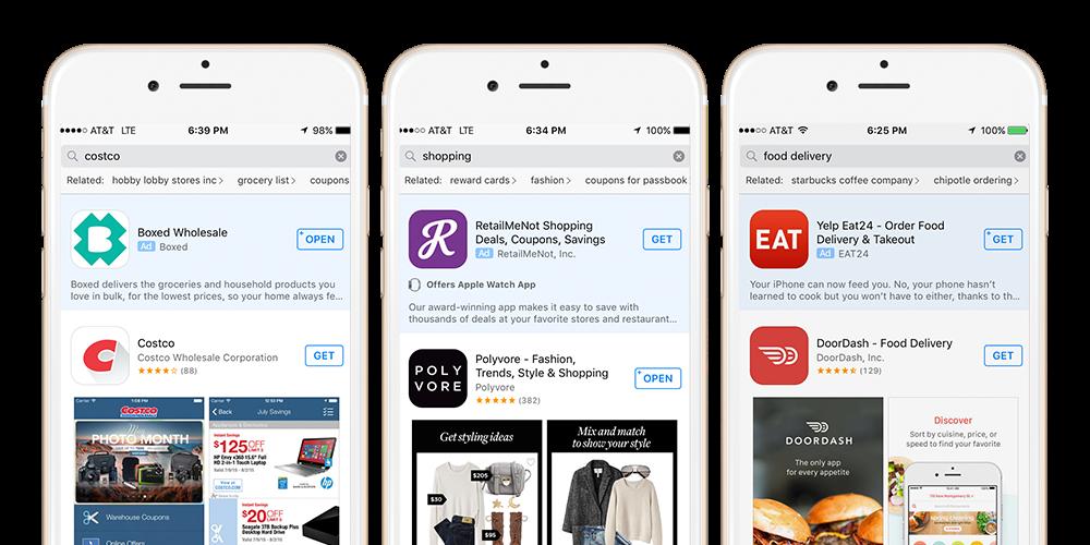 Apple Ad Search Einleitung mit Tipps für App Macher