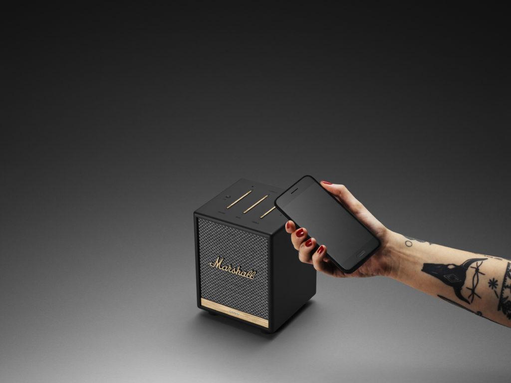 Marshall Uxbridge Voice mit Google Assistant oder Amazon Alexa