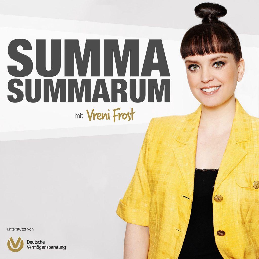Der neue Finanz-Podcast Summa Summarum von Vreni Frost