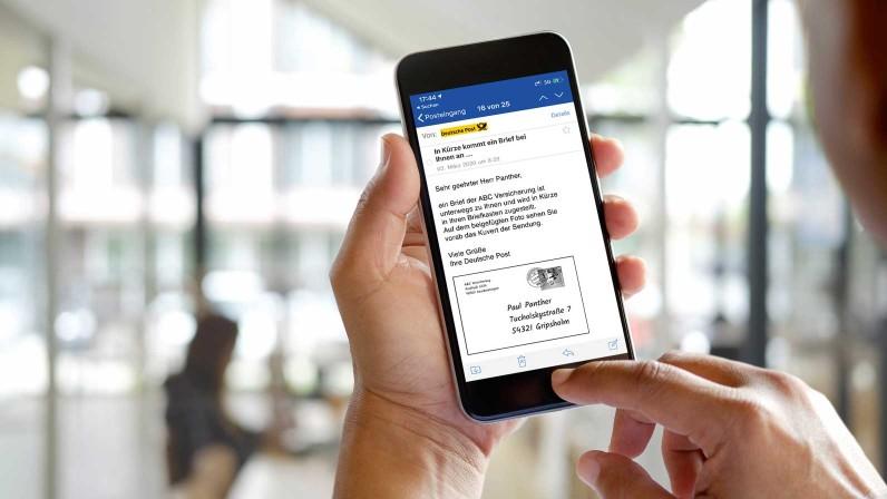 Briefankündigung per Mail und App für GMX und Web.de