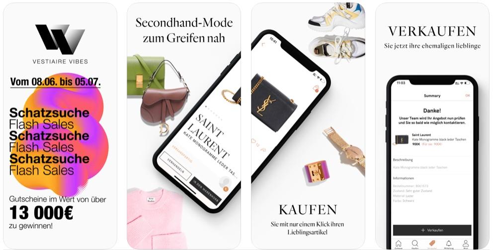App Tipp Vestiaire Collective Ist Eine Art High End Ebay Fur Gebrauchte Luxusguter Mobilbranche De