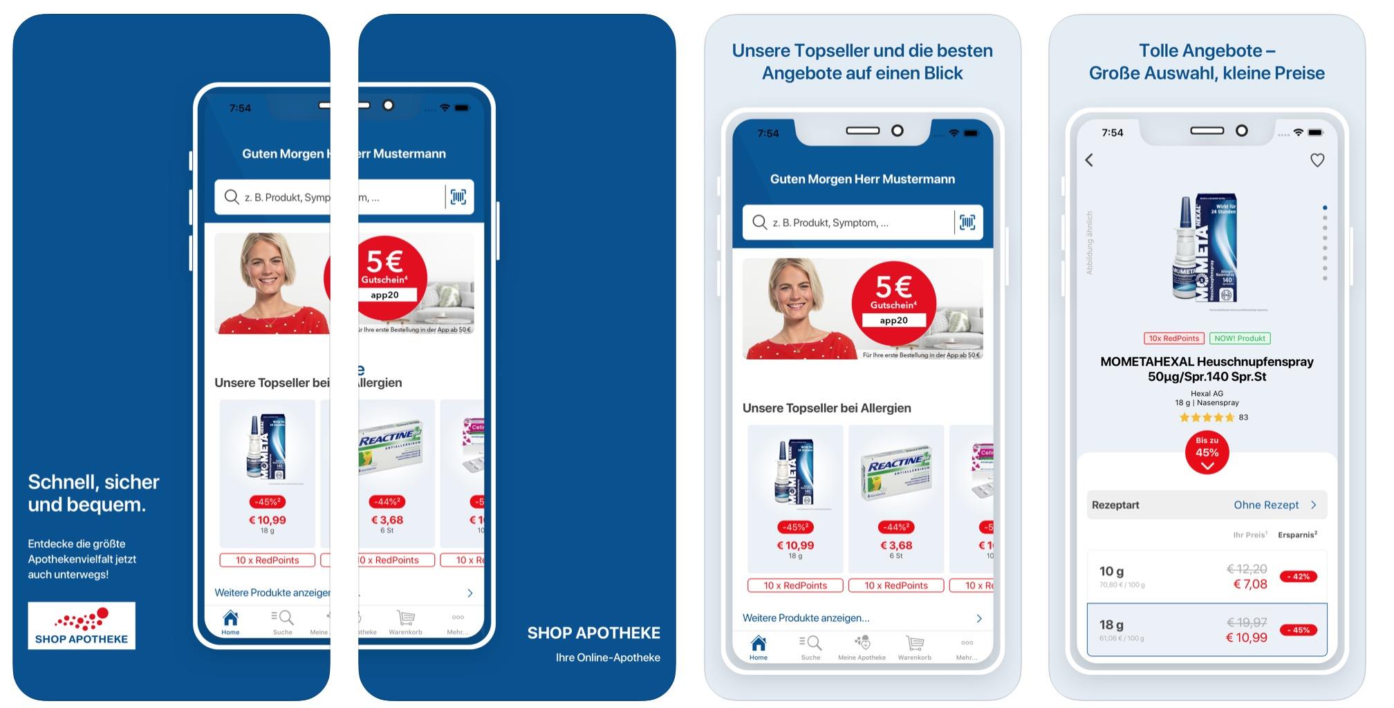 App Tipp Shop Apotheke will mit Expresslieferung und E Pharmacy ...