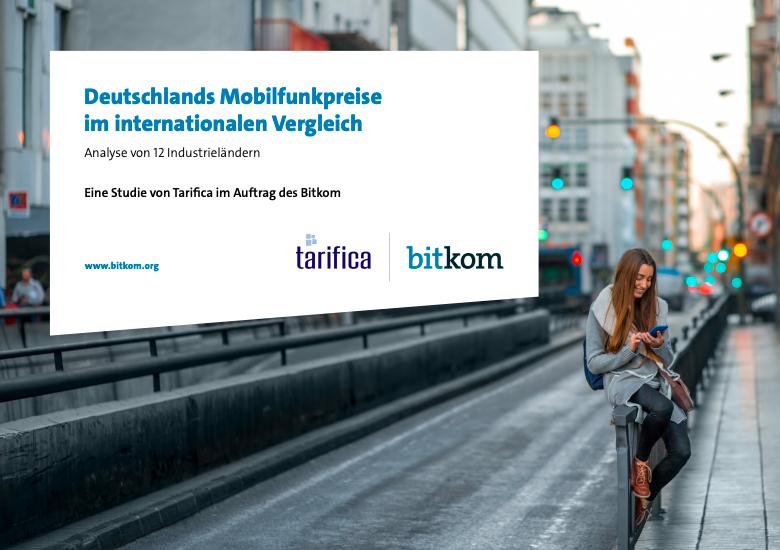 bitkom Studie zu Mobilfunkpreisen im internationalen Vergleich.