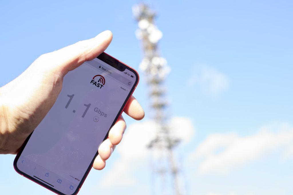 Vodafone baut 5G schneller als geplant.
