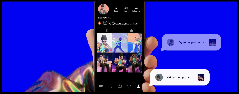 Neue Social Media App Poparazzi